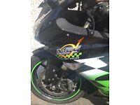 Kawasaki ZX10 R racing bike