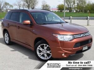 2014 Mitsubishi Outlander GT AWD 7 Passenger w/Sunroof  Leather