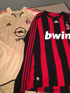 AC Milan 3rd Jersey and Long Sleeve Jersey