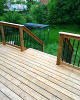BOOK NOW FOR SUMMER - SPECIALIZING IN HIGH QUALITY DECKS