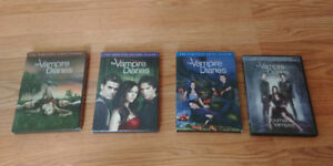 Vampire diaries/ Le journal d'un vampire saison 1-4