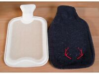 Hot Water Bag Bottle With Case Cover