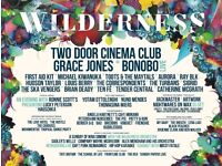2x Wilderness Festival Adult Weekend Camping tickets for sale