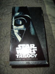 Star Wars Trilogy: Special Edition VHS Box Set