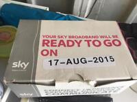 2x Sky wifi box and 1x Sky hd box