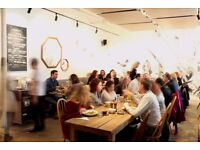 Part Time/Full time Floor Staff In a Busy Australian Restaurant in Shoreditch