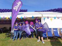 Great North Run Charity Village Volunteer