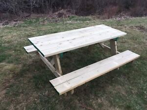 Picnic table 6 ft treated. $170