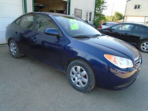 $5,495.00  Low Kms. 2010 Hyundai Elantra GL 4door
