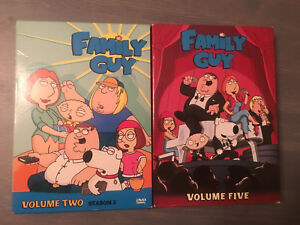 Family Guy Volume Two and Five
