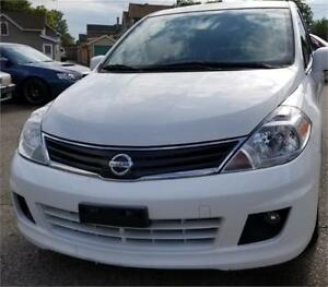 2010 Nissan Versa 1.8 SL 2 YEARS WAR REMOT ST BRAND NEW TIRES