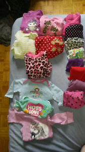 3-12month Girls Clothing Lot
