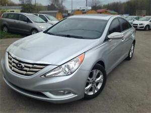 2011 Hyundai Sonata Limited! Leather, Certified!