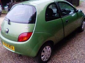 Ford ka style** 58**2008** 1.3cc low insurance** tidy car** mot ** 79000 miles