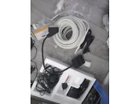 TV wires joblot