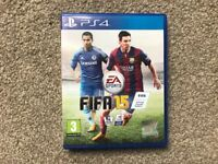 FIFA 15 for PlayStation 4...