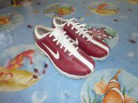 Nike ladies golf shoes used once size 5 UK