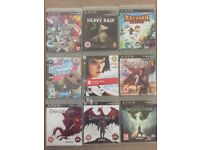 Playstation 3 Games - Prices on Listing - (including some free ones)
