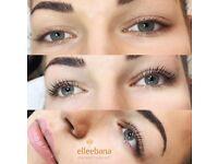 Volume eyelashes, Lash la lifting, sugar paste hair removal