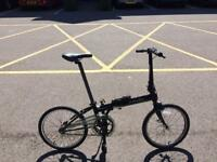 Dahon 2016 Black fold up bike