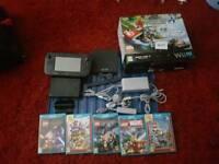 Black Wii u Mario kart8 premium pack 32gb