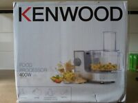 Kenwood food processor - Brand new and boxed