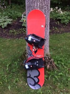 Rossignol 106 snowboard with bindings
