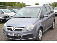 2007 VAUXHALL ZAFIRA 1.6 7 SEATER ESTATE PEOPLE CARRIER LOW MILEAGE