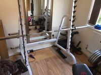 BodySolid Professional Squat rack