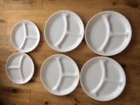 Corelle portion control plates