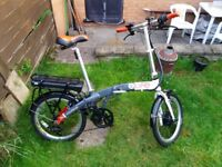 ELife Voyage Electric folding Bike