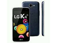LG K4 4G Brand new with warranty and accessories unlocked!