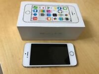 Boxed & 32 gb iPhone 5S, Gold, O2 network, Can deliver