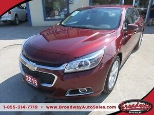 2015 Chevrolet Malibu LOADED LTZ MODEL 5 PASSENGER 2.5L - ECO-TE
