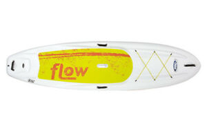 Pelican Sport Flow 10.6 ft sup board on Sale in white/ orange