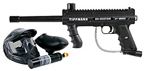 Tippmann 98 custom comes with mask and new 20oz tank