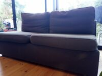 Free double sofa bed blue