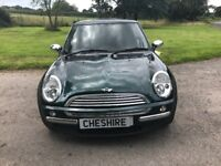 2003 Mini One 1.6L - Excellent condition for the Year - Low Milage - MOT Until Feb 2018