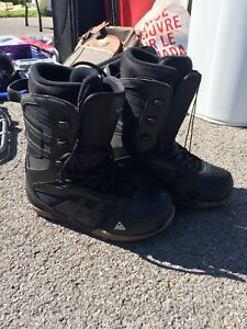 K2 Snowboarding boots (Size 7-8)