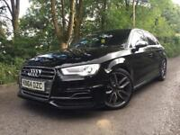 Audi S3 TFSI 2.0 DSG AUTO SPORTBACK KEYLESS ENTRY REMAPPED 400BHP MILTEX WIDESCREEN NAV