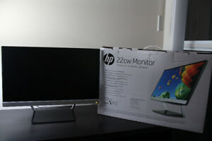 HP Pavilion 22cw 21.5 IPS LED Monitor