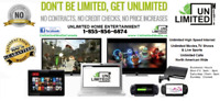 The Future of TV      Unlimited Everything!!