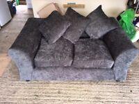 Sofa - small, suit bedroom or studio flat - not sofa-bed