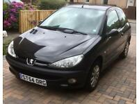 Peugeot 206 1.4 Zest 2, 3dr hatchback - Well maintained with low mileage - very reliable