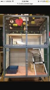 2 story animal cage