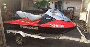 2005 Sea Doo - low hours - excellent condition
