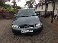 Audi A3 for sale 2003 plate £900
