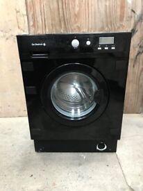 De Dietrich Integrated Washing Machine in Black