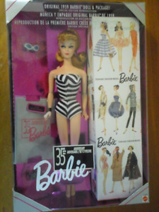 35 th Anniversary of the original 1959 Barbie Doll & Magazine