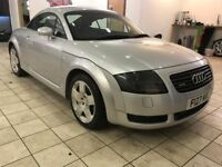 !!225BHP!! 2002 AUDI TT 1.8T QUATTRO / MOT JAN 2018 / SERVICE HISTORY / BLACK LEATHER / MUST SEE